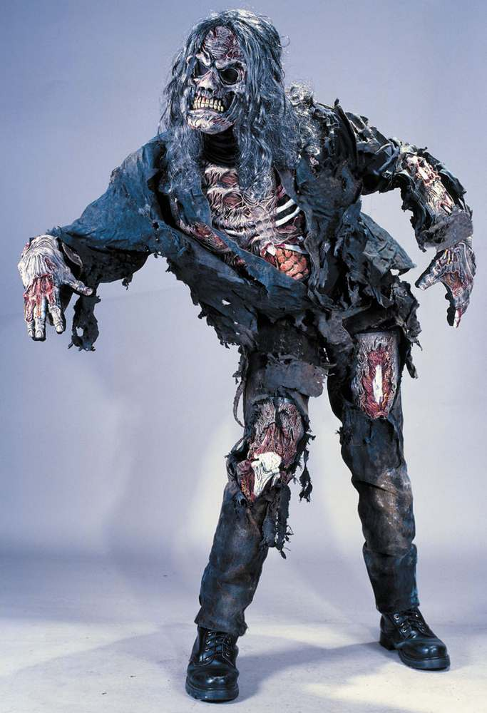 complete zombie halloween costume - Halloween Costumes Of Zombies