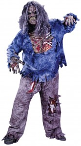 Halloween Zombie Plus Costume