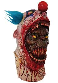 Terrifying Coulrophobia Clown Mask