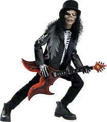 Cryptic Rocker Scary Costume