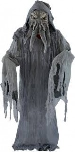 Grey Halloween Monster Costume