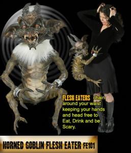 Horned Goblin Halloween Costume