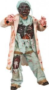 Zombie Doctor's Halloween Costume