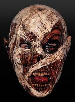 halloween mummy horror mask