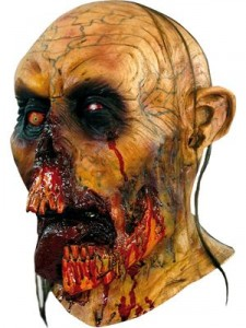 Zombie tongue horror mask