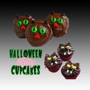 kitty cupcakes