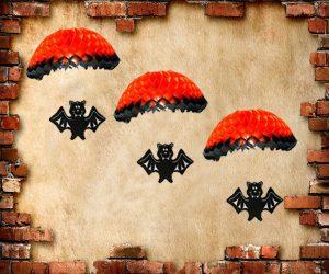 skeleton parachute hanger